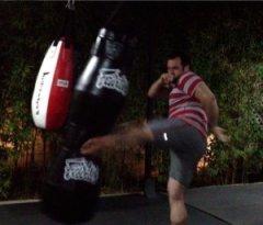 Luca Kicking