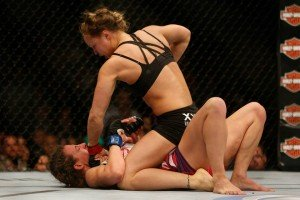 Photo courtesy Ronda Rousey Facebook page.