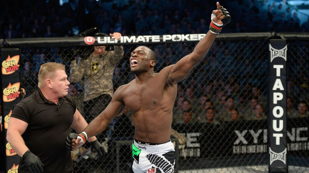 Derek Brunson (Black Sports Online)