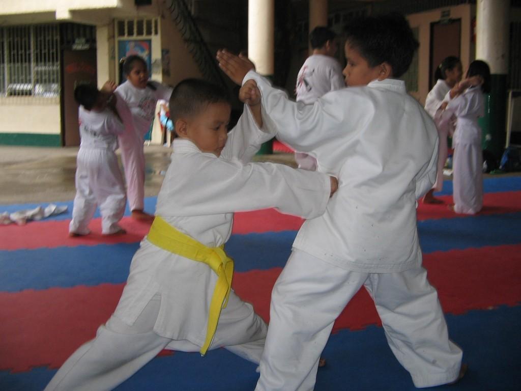 JJS_Karate_Kids_on_Training