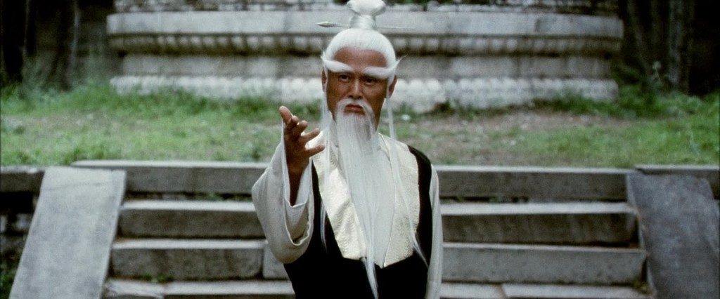 "Gordon Liu as Kung Fu master ""Pai mei"" in Quentin Tarantino's Kill Bill: Volume 2 distributed by Miramax Films."